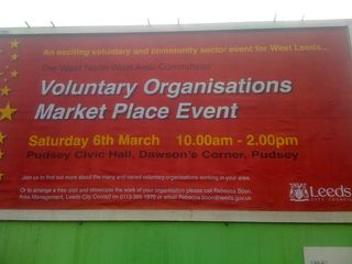 Voluntary Organisations Market Place Event